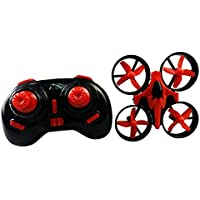 NiGHT LiONS TECH N010 Mini Drone 2.4GHz 4CH Mini UFO Quadcopter Drone with 6-Axis Gyro Headless Mode Remote Control mini Quadcopter - red