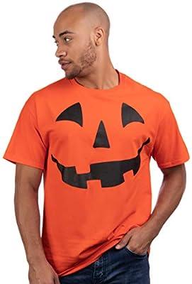 Giant Jack O' Lantern Face   Halloween Pumpkin Fun Unisex T-Shirt for Men Women