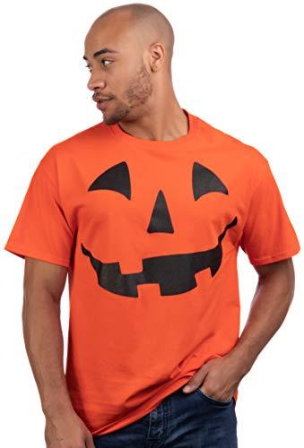 Preserving A Halloween Pumpkin (Giant Jack O' Lantern Face | Halloween Pumpkin Fun Unisex T-Shirt for Men Women,XL)