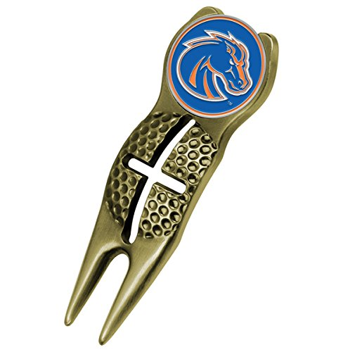 - NCAA Boise State Broncos - Crosshairs Divot Tool - Gold