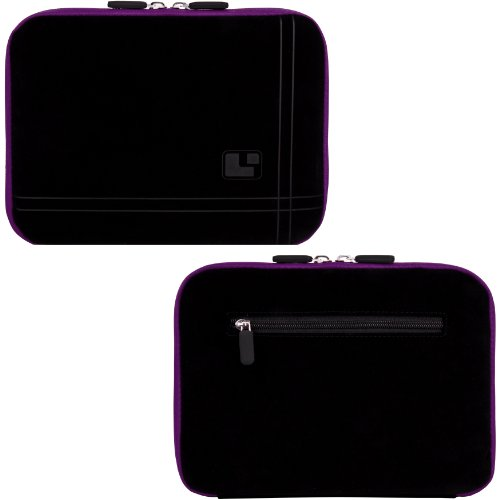 PURPLE Aero Protection Design Slim Soft Suede Cover Carry...