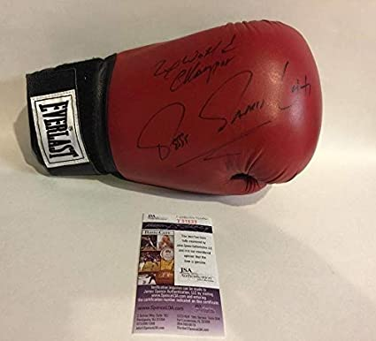 Image Unavailable. Image not available for. Color  Jesse James Leija  Autographed ... 65e369f4e