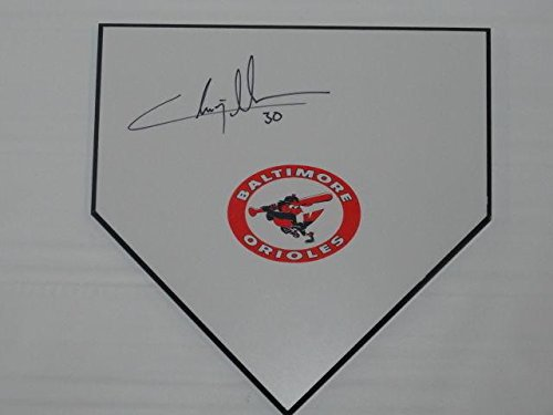 Chris Tillman Signed Home Plate Baltimore Orioles Autographed Proof - MLB Game Used Bases Baltimore Orioles Home Plate
