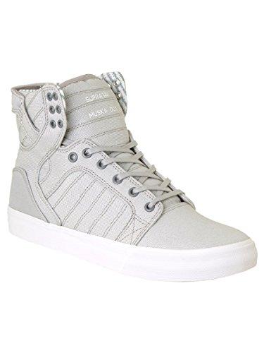 Zapatos Supra Skytop Light Gris-blanco