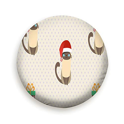 YANAIX Merry Christmas Santa Claus Costume Cat Animal
