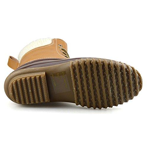 Mucker Hiver Marchant Randonnée Femmes Chaussures Epicstep Beige Dames Imperméables Pluie Marron Bottines TaYUwxq
