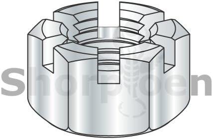 #10-24 Threads 1 Length Nylon 6//6 Set Screw Plain Finish Off-White Meets ASTM D4066//ASTM D6779 Pack of 100 Slotted Drive