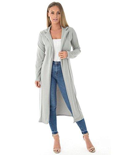 DigitalSpot - Vestido - para mujer gris