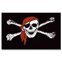Piraten Flagge 150x90 Polyester stabile Hissflagge #1 Bandana