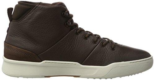 Uomo Brw Lacoste Classic Sneaker Dk Explorateur Marrone Mid OUaqxRI