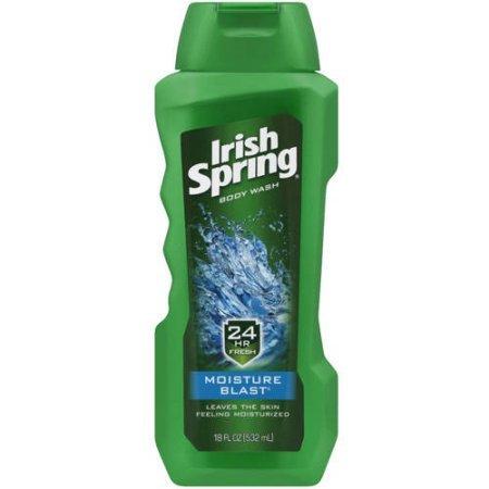 Gel Fresh Blast - Irish Spring Moisture Blast Body Wash, 18 fl oz