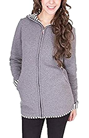 Sodhue 3 in 1 Baby Carrier Jacket Women Maternity Sweat-Shirts Multifunction Kangaroo Pocket Coat Jacket for Pregnant Baby Wearing Holder Pullover Polar Fleece Sweaters
