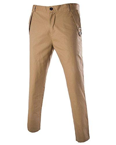 Homme Fit Slim Pantalon Beige Chino PfSdZPwqx