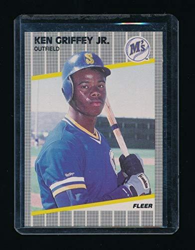 - KEN GRIFFEY JR. 1989 FLEER #548 RC *SEATTLE MARINERS* A