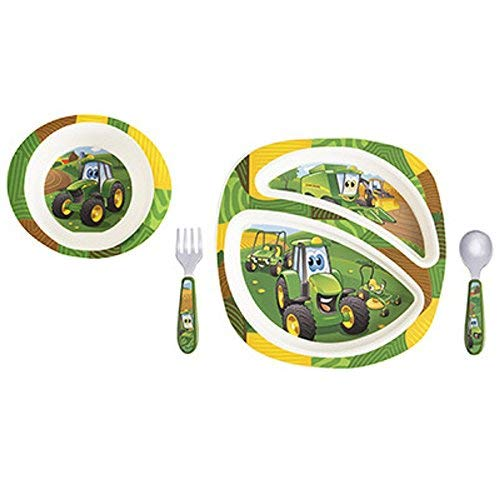 John Deere Plate - John Deere ERTL 4 Piece Dish Set