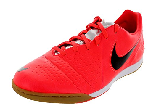 Nike Men's CTR360 Libretto III IC Indoor Soccer Shoes - Bright Crimson/Black/Chrome (12) (Soccer Cleats Ctr)