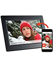 Feelcare Smart Wifi Digital Photo Frame with Touch Screen, IPS LCD Panel, Built in 8GB Memory, Wall-Mountable, Portrait&Landscape, Instantly Sharing Moments