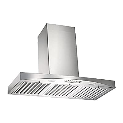 KOBE Range Hoods RA3830SQB-WM-1 Wall Mount 3-Speed