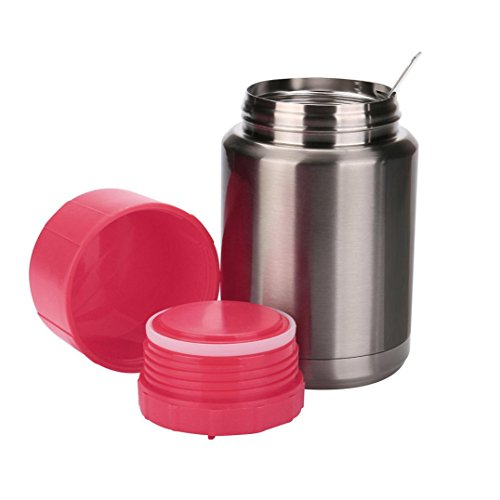 500ml Stainless Steel Water Cup Creative Kettle Sports Water Bottle Flagon Travel Cup (Red)