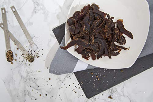 Stryve Biltong | Healthy Keto & Paleo Friendly Air-Dried Beef Snacks | 50% More Protein than Beef Jerky, Gluten Free, Low Carb, Sugar Free, No Nitrates, No Preservatives, No MSG | Smoked, 10oz