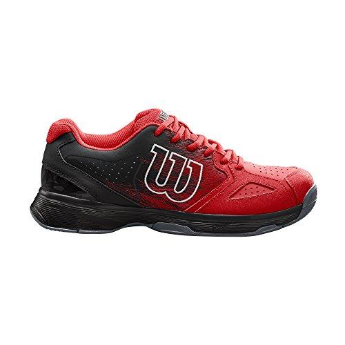 Wil de Black Wilson Rojo Wilson White para Zapatillas Hombre Tenis Kaos Stroke Negro Red 6w7qPt