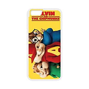 Alvin and the Chipmunks iPhone 6 Plus 5.5 Inch Cell Phone Case White O6657090