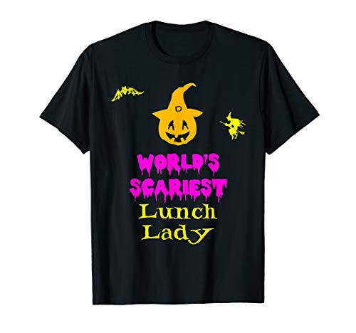 (World's Scariest Lunch Lady Halloween)