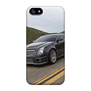 Bumper Cell-phone Hard Cover For Iphone 5/5s (uzm5105oXTC) Custom Attractive Cadillac Cts V Series