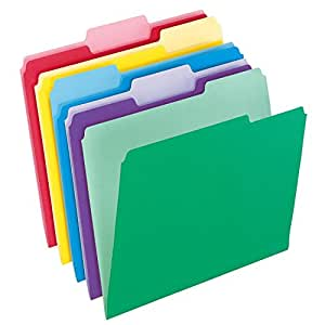 Pendaflex Letter Size File Folders with InfoPocket (Pack of 60)