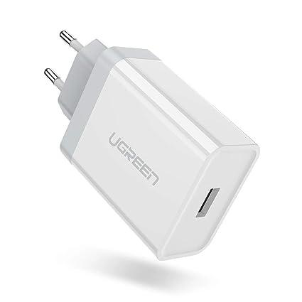 UGREEN Cargador Carga Rápida para Huawei, Cargador Super Charge 22 ...