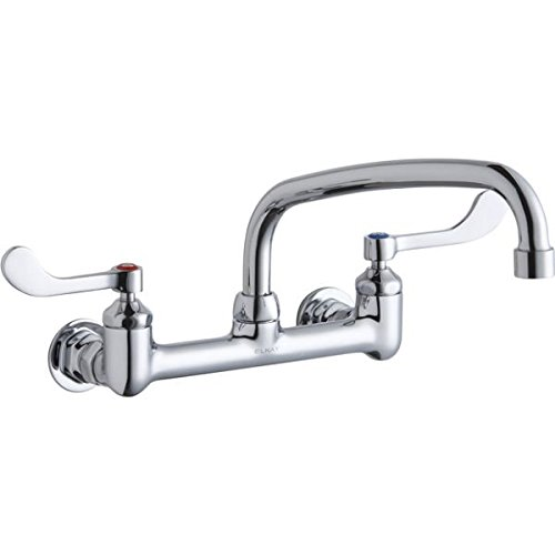 Elkay LK940AT10T4H Chrome Finish Solid Brass Faucet with 10