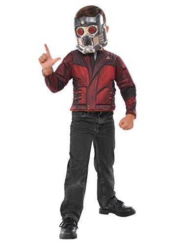 Imagine by Rubie's Guardians of The Galaxy Volume 2 Child's Star-Lord Muscle Chest Shirt Set Costume, Multicolor