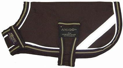 Horseware AMIGO DOG RUG Coat Warm Waterproof and Cosy 100g Blue//Red XXS-XXXL
