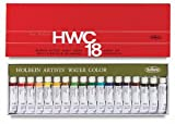Holbein Artist's Watercolors Set of 18 5ml Tubes W403