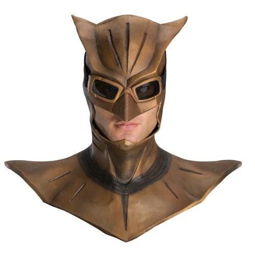 Watchmen Night Owl Deluxe Latex Mask with Cowl]()