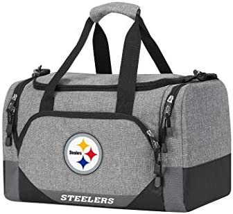 Officially Licensed NFL Terrain Duffel, Grey, 18 x 11 x 11 inches
