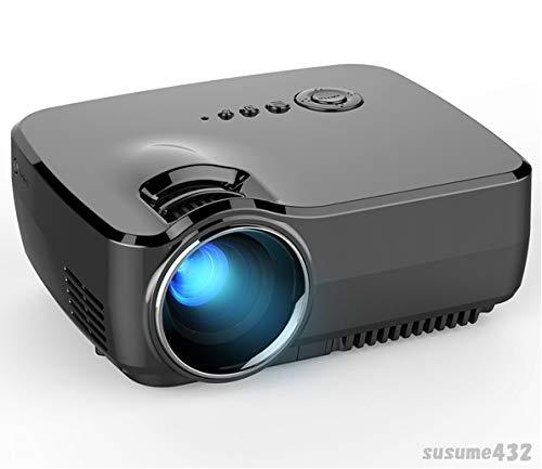 [小型 モバイルプロジェクター] GP70 LED 18~220インチ 1080P ホームシアター B07MY9Z7LZ