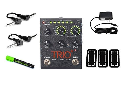 DigiTech Trio+ Band Creator + Looper PRYMAXE PEDAL BUNDLE -  TRIOPLUS-UK6
