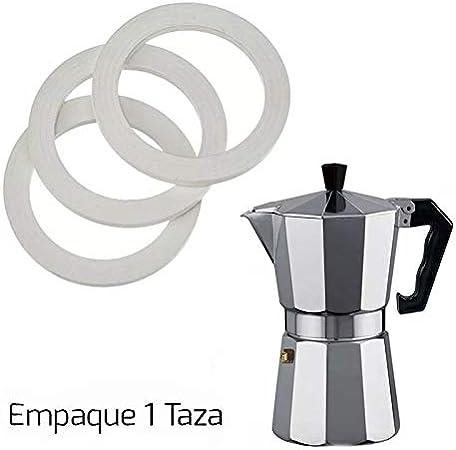 Empaque para Cafetera Italiana Bialetti y Turmix (1 Taza)