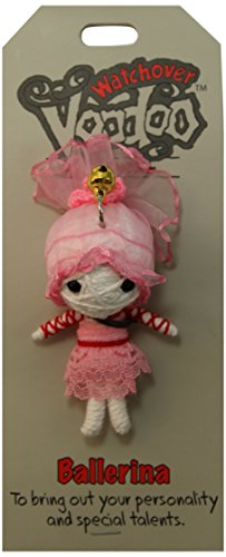[Watchover Voodoo Ballerina Doll, One Color, One Size] (Voodoo Doll Costume Child)