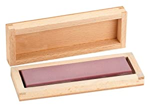 "Ruby Bench Stone - 4"" Fine Grit - One Sided"