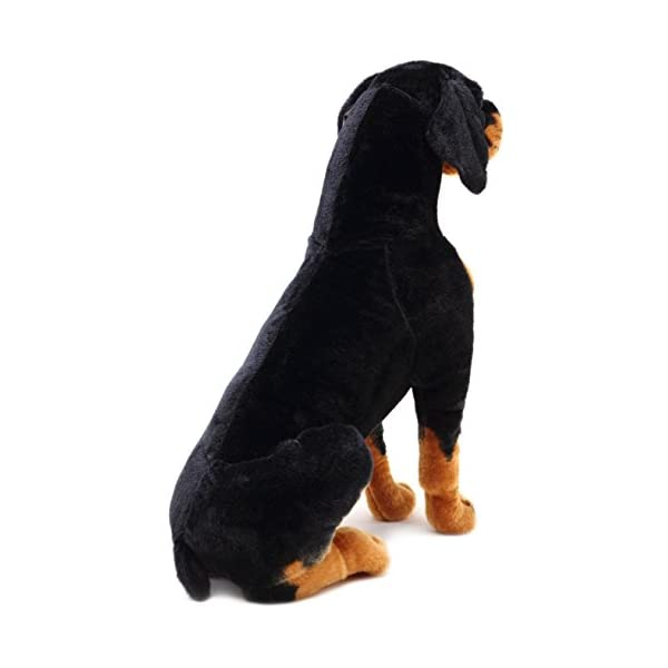 VIAHART Robbie The Rottweiler | 26 Inch Tall Stuffed Animal Plush Dog | Shipping from Texas | by Tiger Tale Toys 3