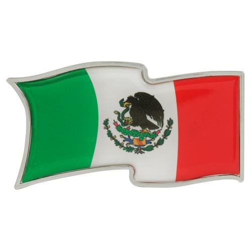 Pilot Automotive Mexican Flag Emblem (IP3023) ()