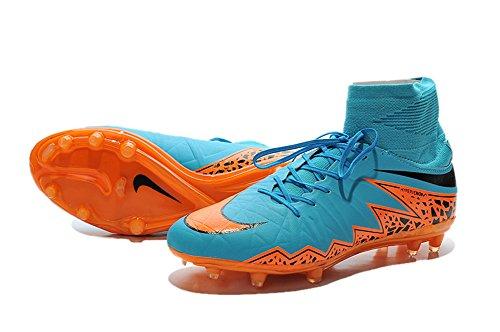 msg3j8s Generic hombre Hypervenom Phelon 2FG Botas de fútbol, hombre, azul, 43