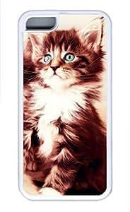 iPhone 5c case, Cute Cat 28 iPhone 5c Cover, iPhone 5c Cases, Soft Whtie iPhone 5c Covers