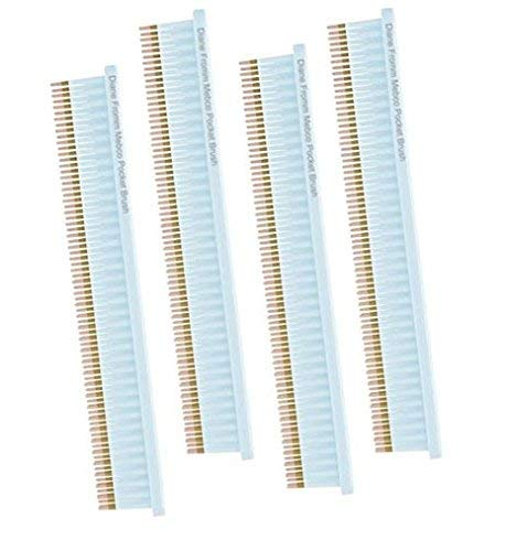 Double Comb - Mebco 3 Row Pocket Comb PB1 Color: Blue 4 combs