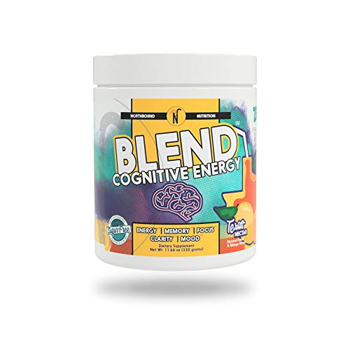 NorthBound Nutrition Blend Cognitive Energy & Endurance Formula Supplement – Mental Boost with Caffeine for Memory, Focus, Clarity and Mood Wellness (Texas Nectar)