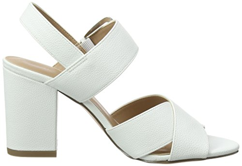 New Look Women's Resco Open Toe Heels White (White 10) 5eoebyXxA