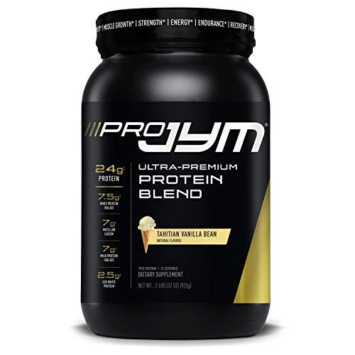 Pro Jym Protein Powder - Egg White, Milk, Whey protein isolates & Micellar Casein | JYM Supplement Science | Tahitian Vanilla Bean Flavor, 2 Lb