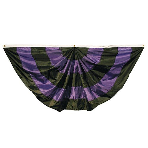 Valley Forge 3'x6' Nylon Mourning Fan by Flag by Valley Forge